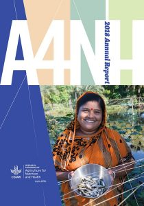 CGIAR Research Program on Agriculture for Nutrition and Health 2018 annual report cover