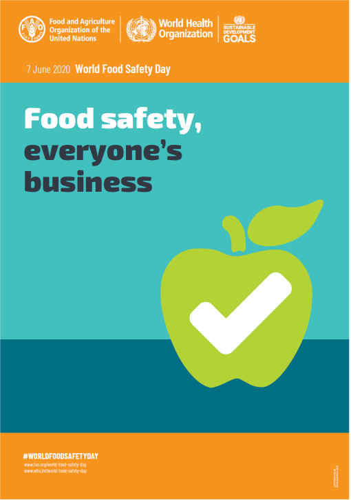 World Food Safety Day 2020 poster